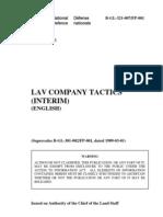 B-GL-321-007 LAV Company Tactics (Interim) (2003)