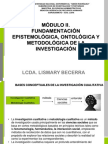 FUNDAMENTACIÓN EPISTEMOLÓGICA, ONTOLÓGICA Y METODOLÓGICA DE LA INVESTIGACIÓN
