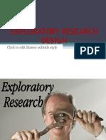 81292011 Exploratory Research Design