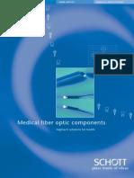 Medical Fiber Optic Components e 270503