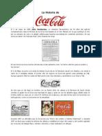 La Historia de Cocacola