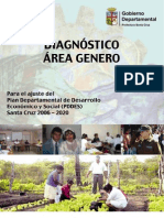 DIAGNOSTICO DPTAL ÁREA GENERO PDDES, AÑO 2005