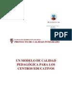 MODELO DE CALIDAD PEDAGÓGICA