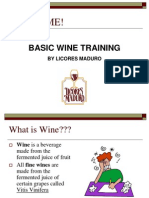 General Wine Training Short