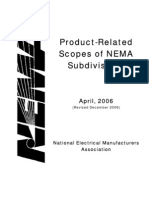 NEMA Product Scopes