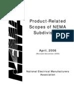 NEMA Product Scopes