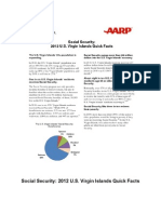 Social Security 2012 US Virgin Islands Quick Facts AARP