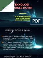Teknologi Google Earth