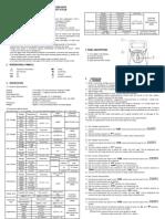Caltek CM1604 - Manual