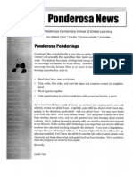 May Newsletter PES
