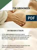 Acute Abdomen (2)
