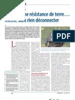 Mesure Resistance Terre