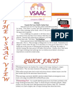 VSAAC  May Newsletter