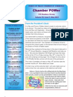May 2012 Newslette