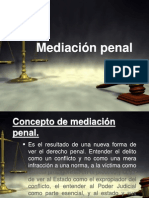 la mediación procesal
