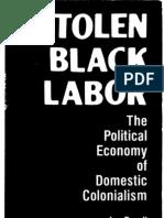 Stolen Black Labor