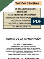 (2) LA TEORÍA DE LA IMPUGNACIÓN Y RECURSOS CIVILES