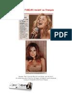 Le Parisien 30.08.2001