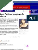 Mes Nouvelles 29.08.2001