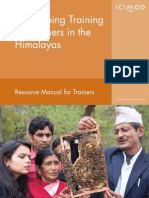 Icimod-beekeeping Training for Farmers in the Himalayas