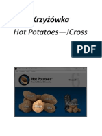 Hot Potatoes Krzyżówka  - przewodnik