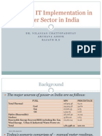 Scope of IT in Power Sector in India