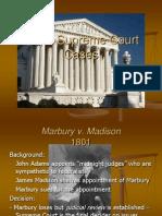 Major Supreme Court Cases