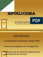 1.- HIPOGLUCEMIA
