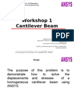 Ansys Workshop 1 (1)