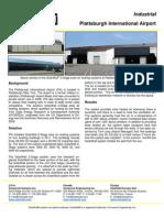SolarWall Case Study - Plattsburgh International Airport (solar air heating system)