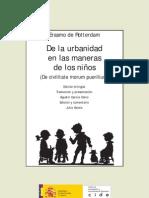 Erasmo Urbanidad Maneras Ninos