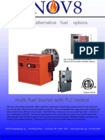 Dual fuel Waste Vegetable Oil Burner Brochure
