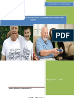 factors and effect of negative attitude of young generation towards older people""