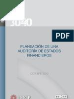 Boletin 3040 IMCP Planeacion Auditoria