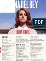 Digital Booklet Born to Die (Deluxe Version) [Bonus Track Version]