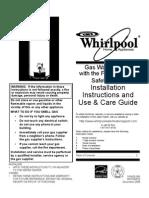 Whirlpool Water Heater Owner Manual