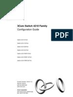 3Com Switch 4210