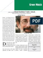 Matt Patterson - Heartland Institute Under Attack
