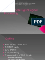 ECG Digital Signal Processing