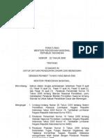 1a. Permen No. 22 Tahun 2006 Standar Isi
