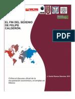 100 El Fin de Sexenio de Felipe C.