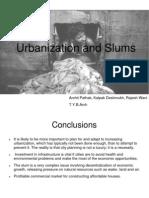 Urbanization and Slums