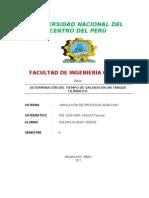 DETERMINACIÓN DEL VACIADO DE UN TANQUE.ANALISIS Y SIMULACION.doc