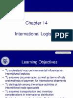Chap14 2011 Intl Logistics