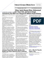 May 2, 2012 - The Federal Crimes Watch Daily
