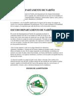 BANDERA DEPARTAMENTO DE NARIÑO