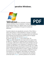 Sistema Operativo Windows Laura