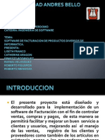 Presentacion Ingenieria de Software