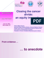 Closing the Global Cancer Divide 010411