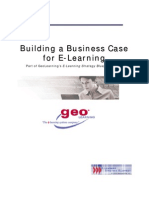 Buiding a Business Case for ELearning